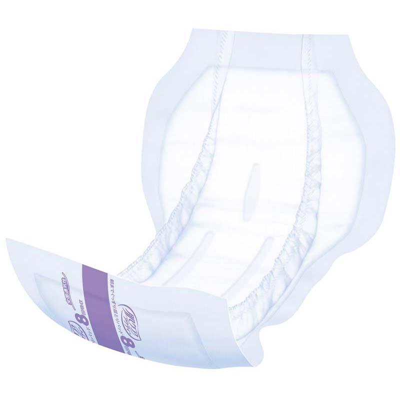 肌ケア アクティ 大人用おむつ 朝までぐっすり尿とりパッド(テープタイプ用) 8回分 18枚