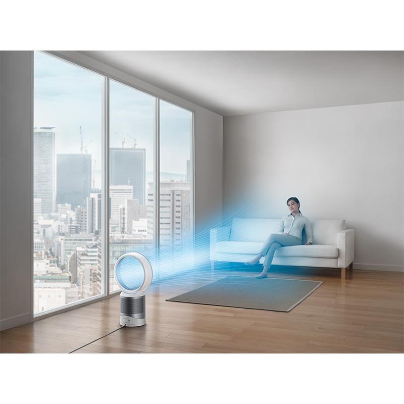 ダイソン Dyson Pure Cool(TM) 空気清浄テーブルファン ホワイト/シルバー DP04WSN