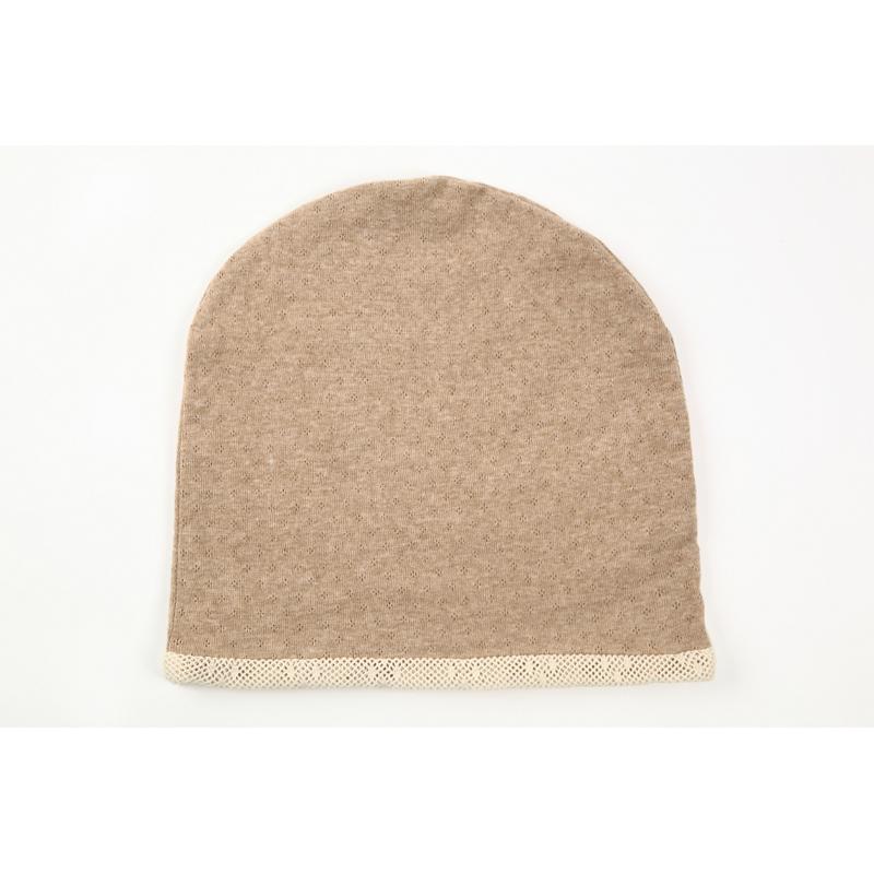 タンドレ 抗がん剤医療用帽子 オーガニックコットン エリゼメッシュ帽子