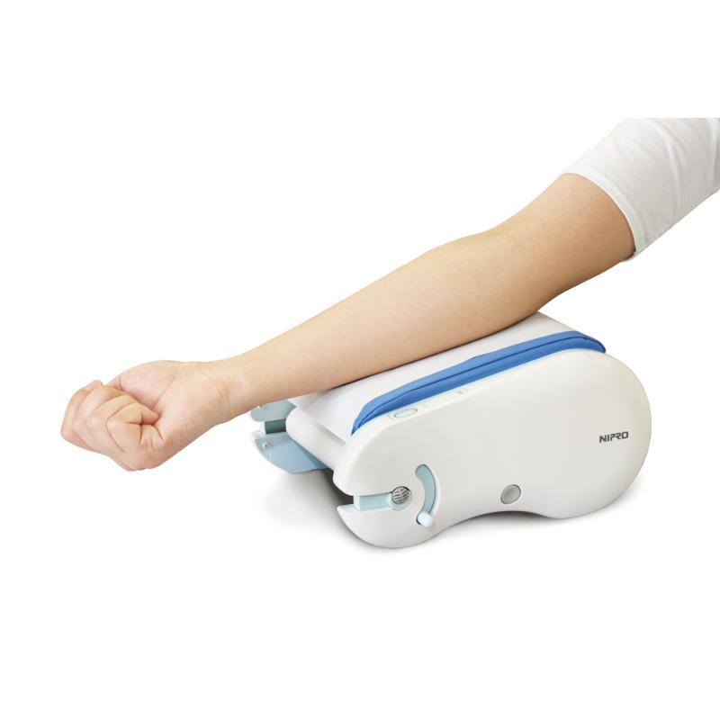 ニプロ 電動シート交換式採血枕 クリンフィ