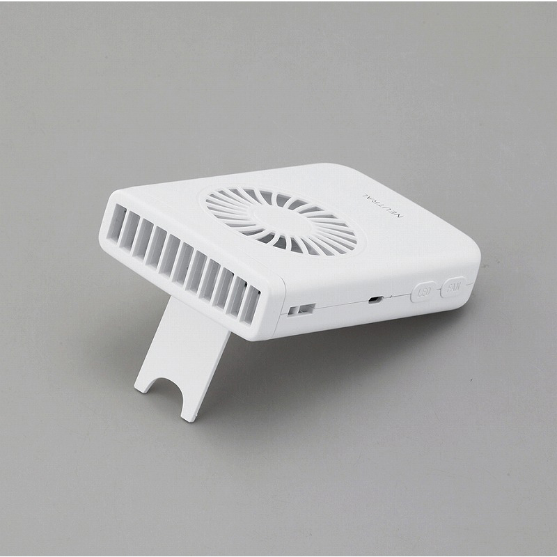 ラドンナ NEUTRAL LEDハンズフリーファン FN03-BK FN03-WH【各種】