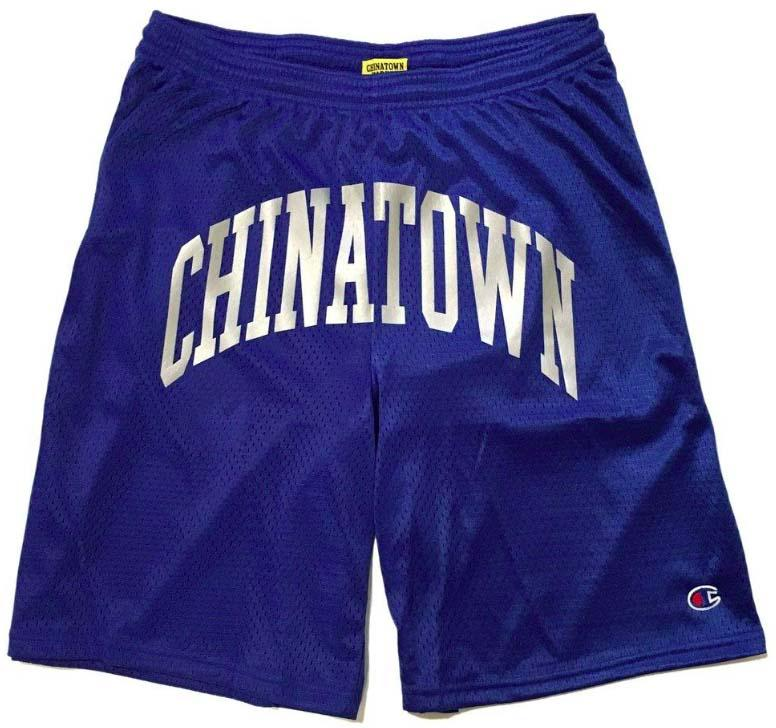 【CHINATOWN MARKET/チャイナタウンマーケット】SHOOTER MESH SHORTS ショートパンツ / ROYAL BLUE