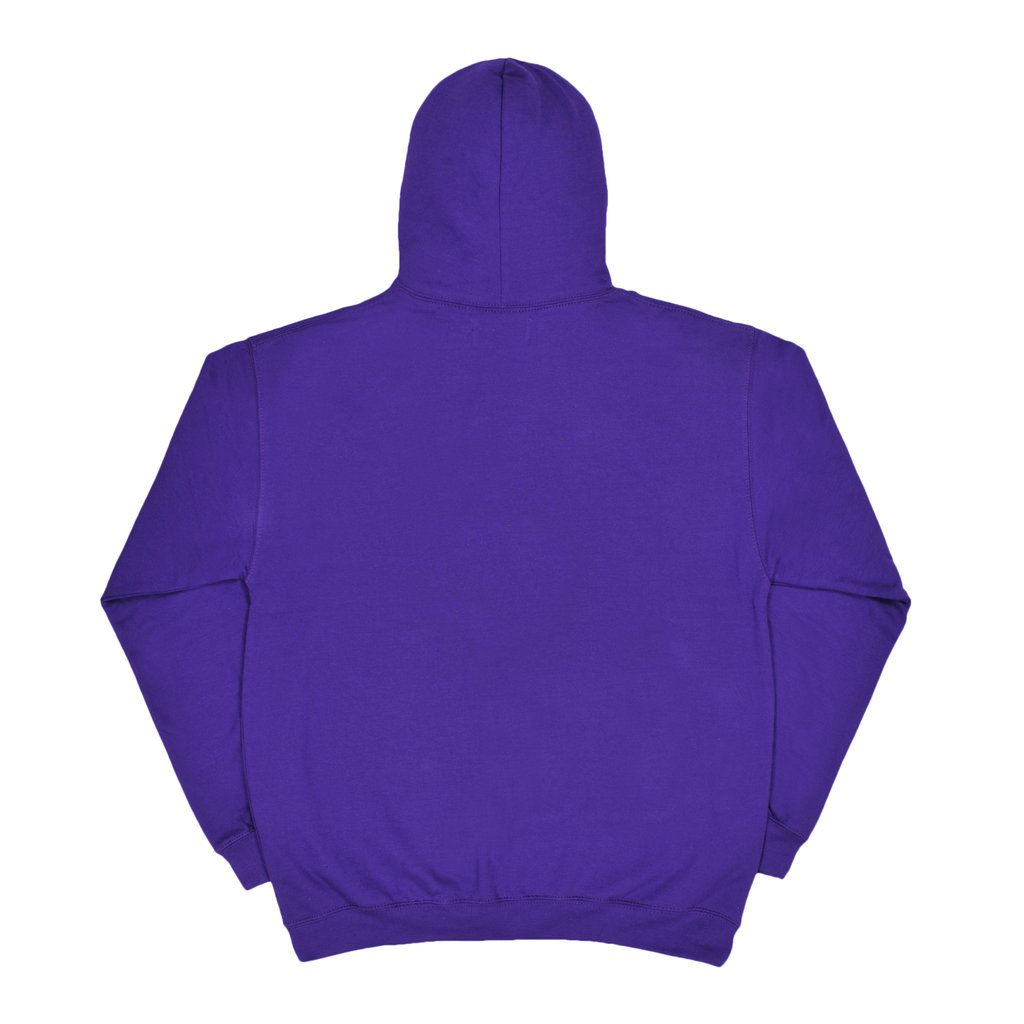【RAVE SKATEBOARDS/レイブスケートボード】FRIENDLY GHOST HOODIE パーカー / PURPLE