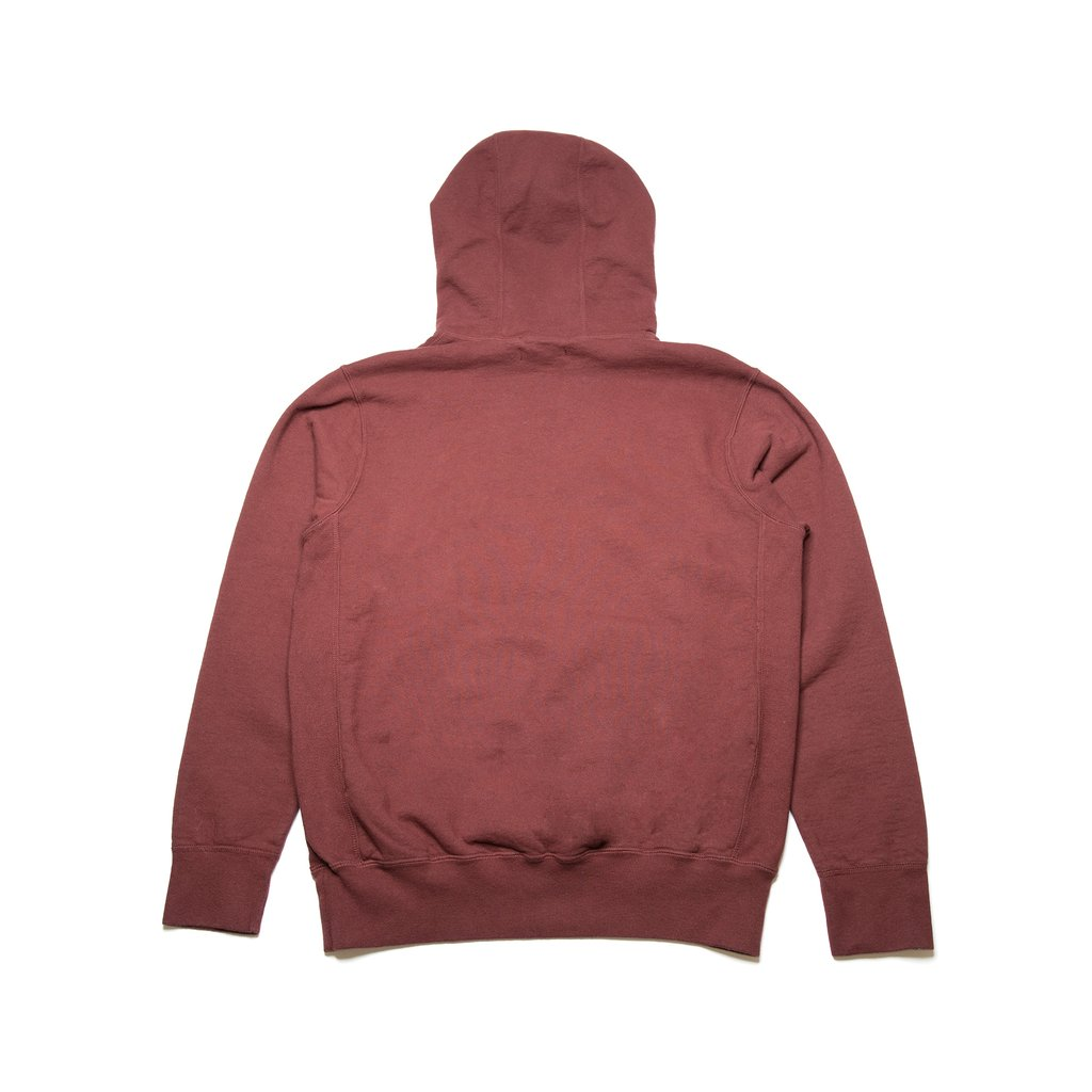 【RAISED BY WOLVES/レイズドバイウルブス】LOGOTYPE HOODIE パーカー / OXBLOOD