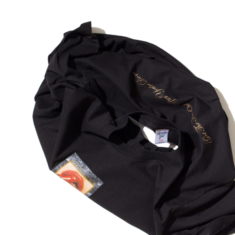【ACAPULCO GOLD/アカプルコ ゴールド】HOT LIPS TEE Tシャツ / BLACK