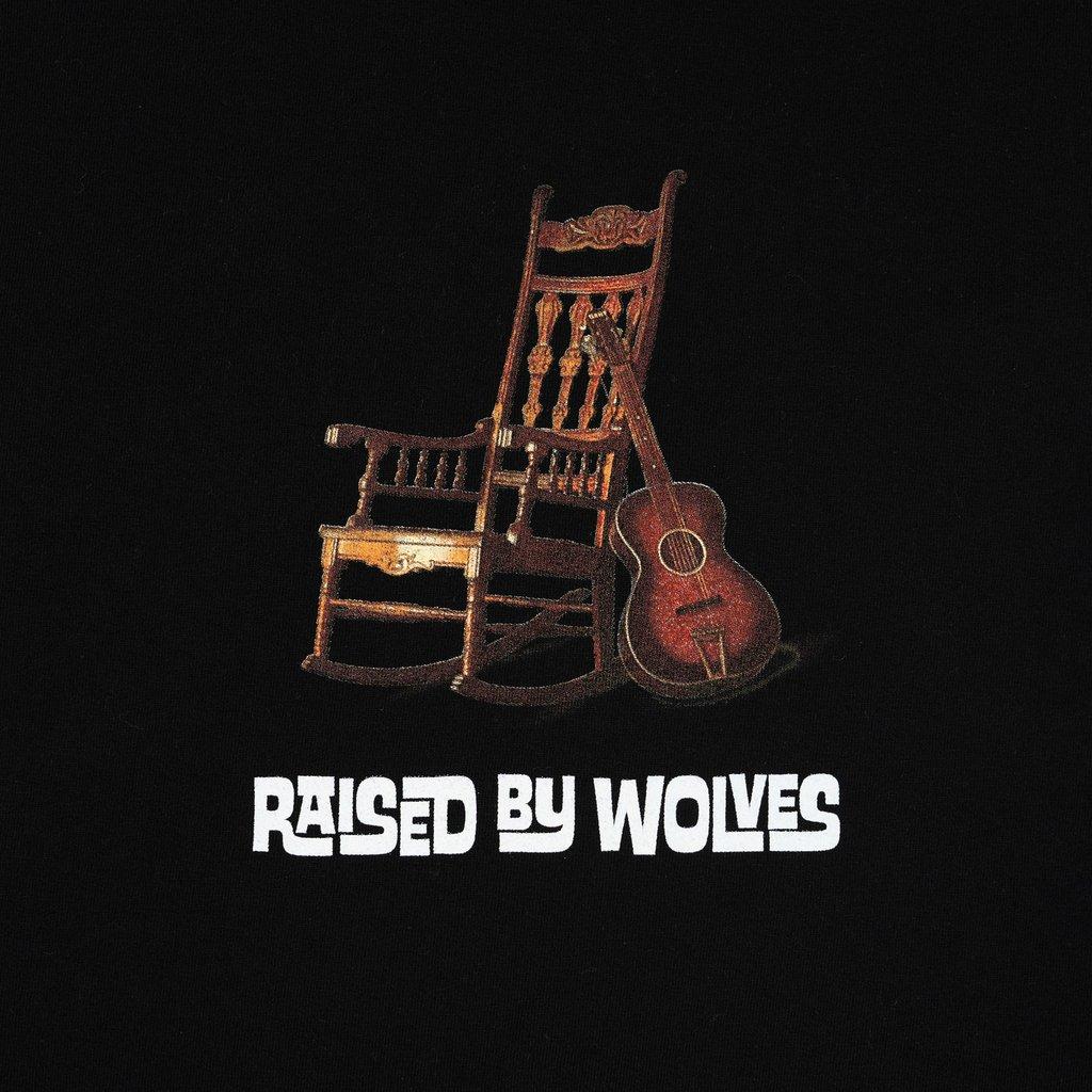 【RAISED BY WOLVES/レイズドバイウルブス】ROCKING CHAIR T-SHIRT Tシャツ / BLACK