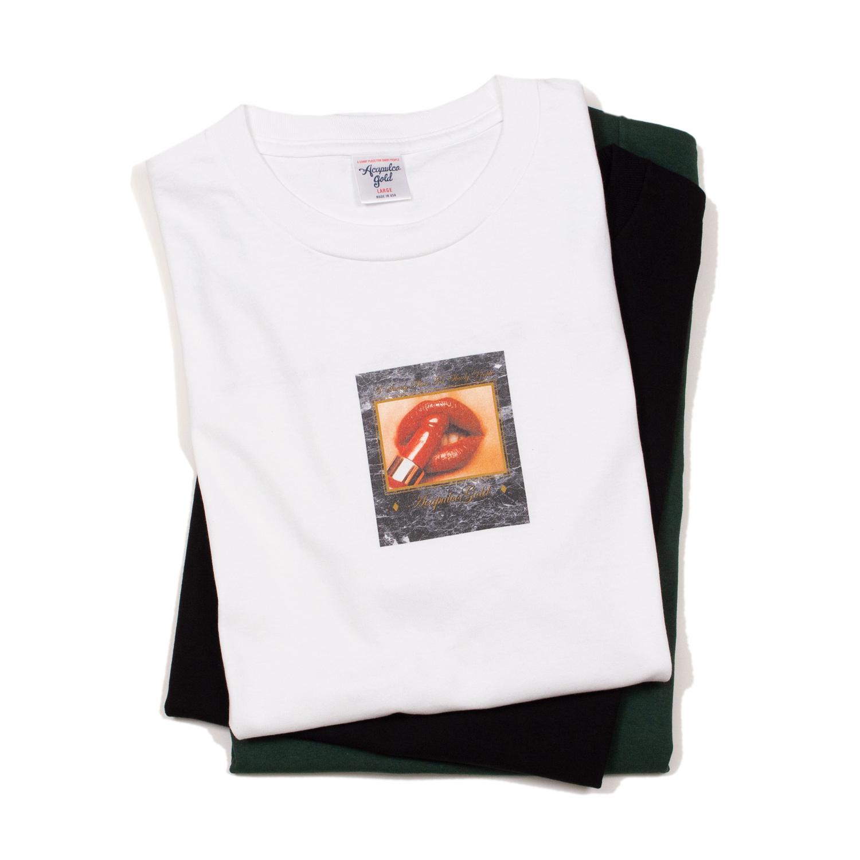 【ACAPULCO GOLD/アカプルコ ゴールド】HOT LIPS TEE Tシャツ / WHITE