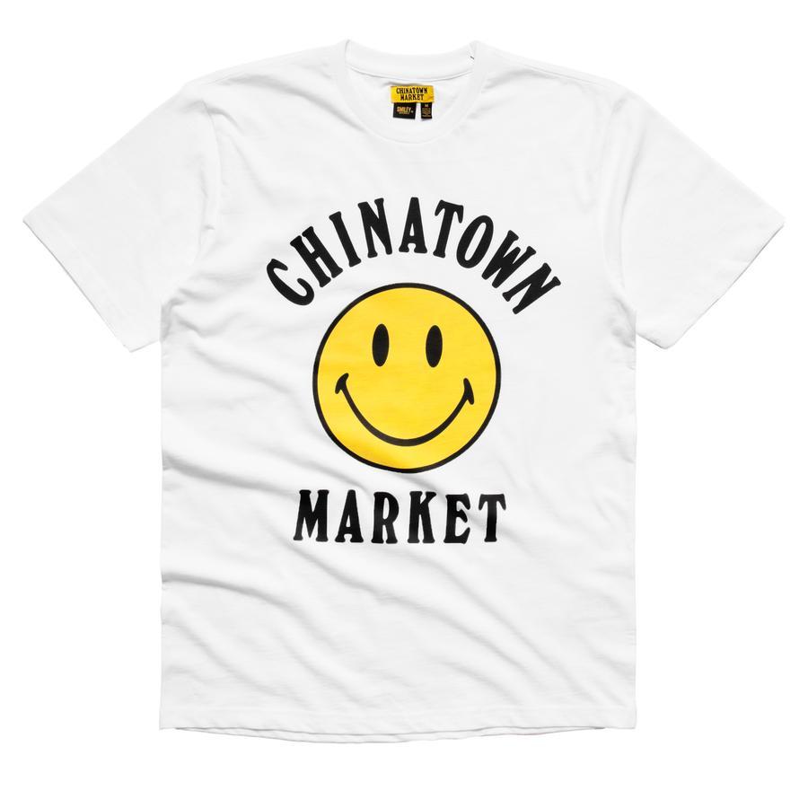 【CHINATOWN MARKET/チャイナタウンマーケット】SMILEY LOGO T-SHIRT Tシャツ / WHITE