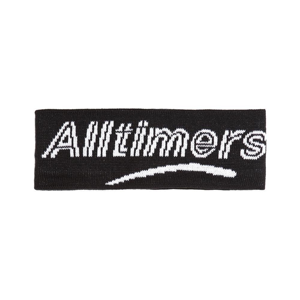 【ALLTIMERS/オールタイマーズ】HEAD BANDZ EAR WARMAR イヤーウォーマー / BLK