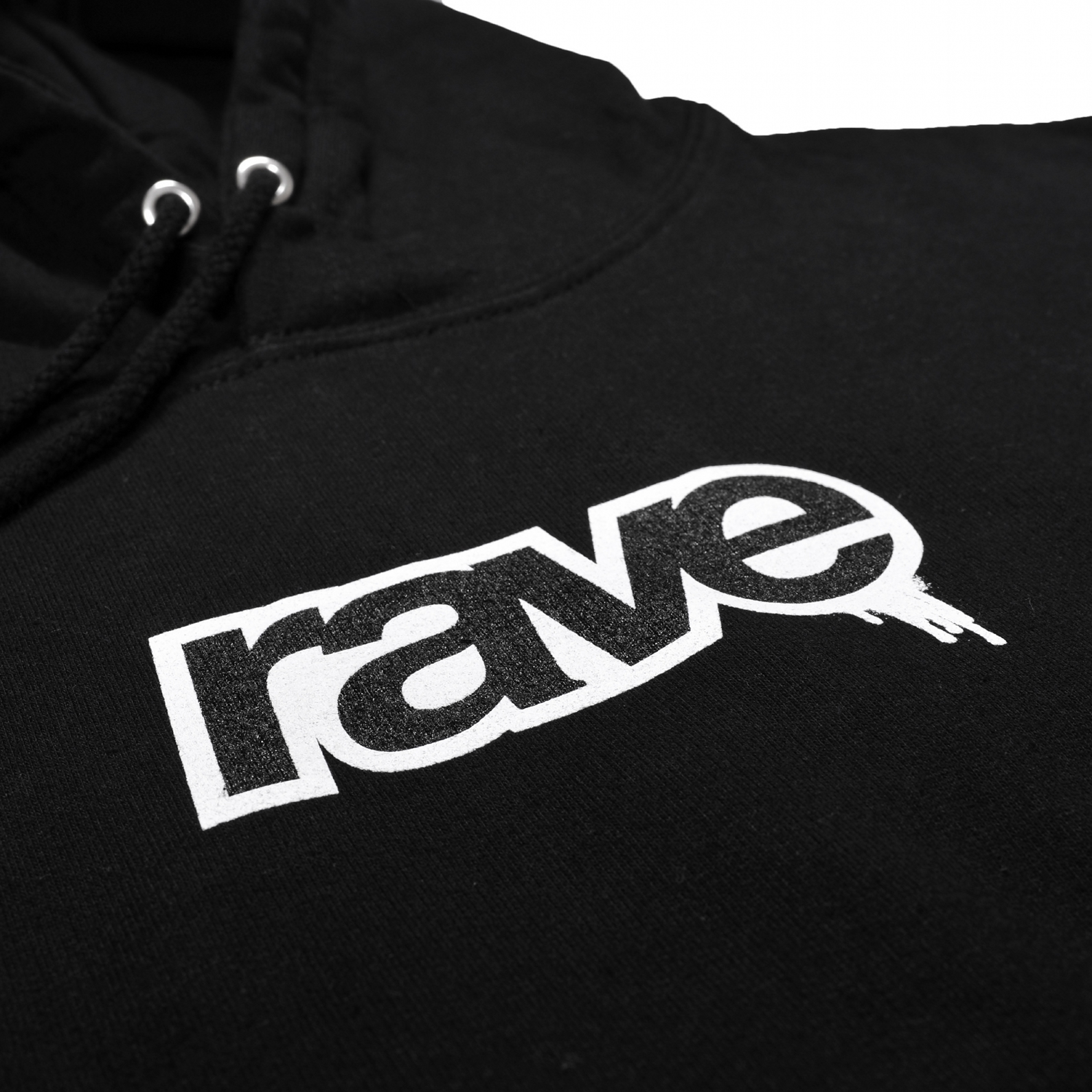 【RAVE SKATEBOARDS/レイブスケートボード】DROPS パーカー / BLACK