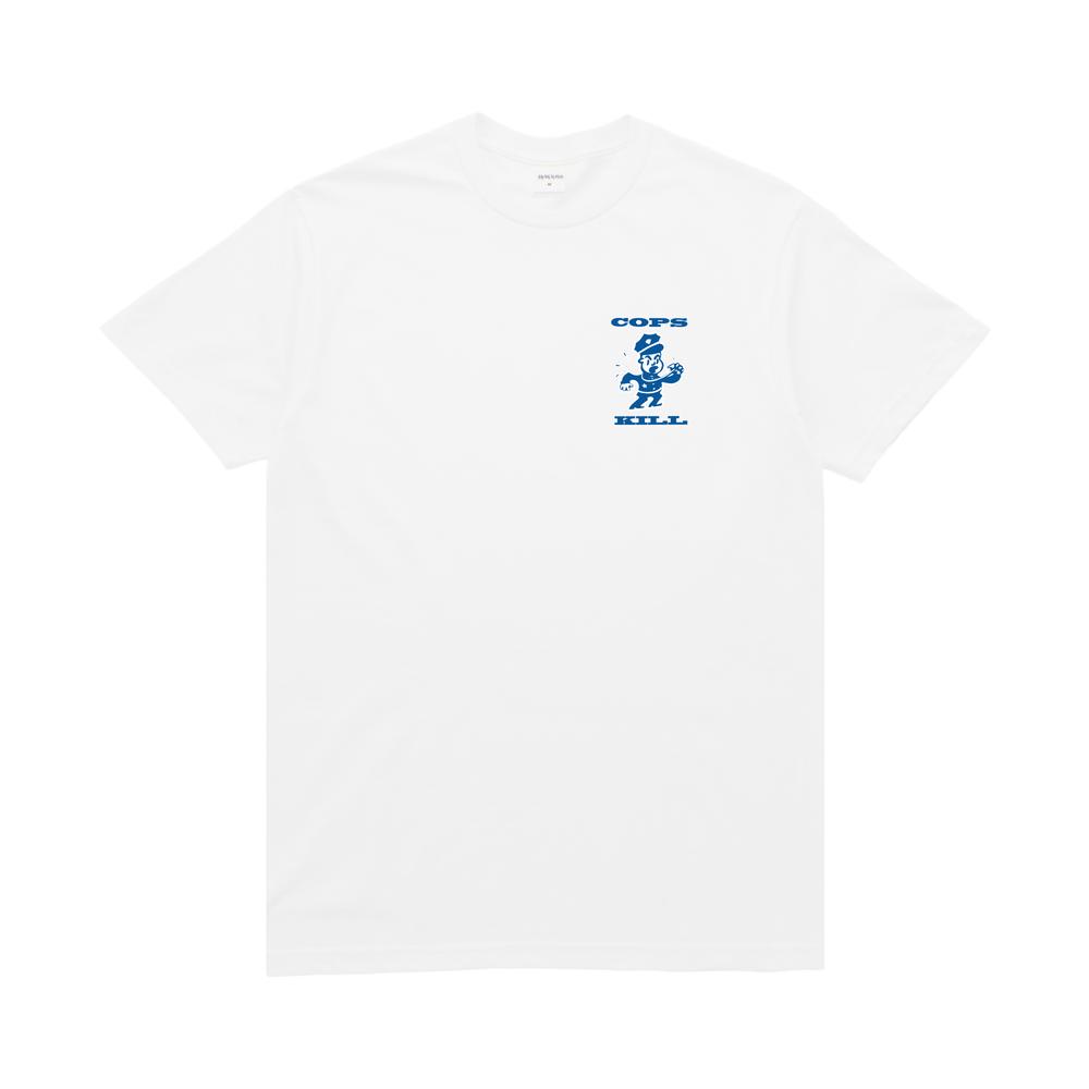 【BROTHER HOOD/ブラザーフッド】COPS KILL T-SHIRT Tシャツ / WHITE