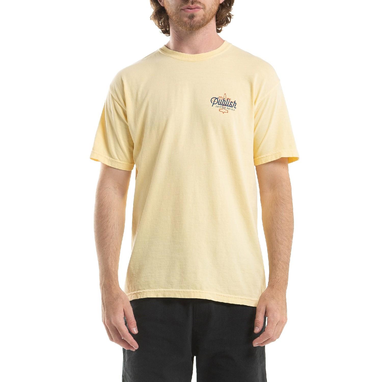 【PUBLISH BRAND/パブリッシュブランド】1ST CLASS Tシャツ / BUTTER