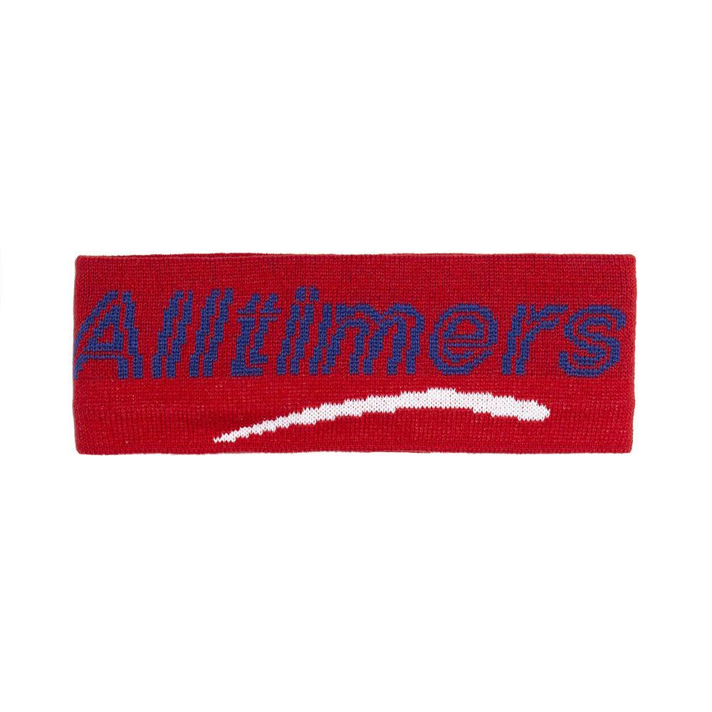 【ALLTIMERS/オールタイマーズ】HEAD BANDZ EAR WARMAR イヤーウォーマー / RED