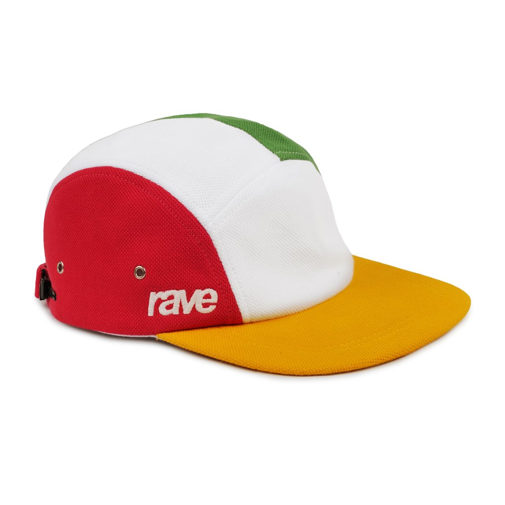 【RAVE SKATEBOARDS/レイブスケートボード】GRAND SLAM CAP キャップ / MULTICOLOR