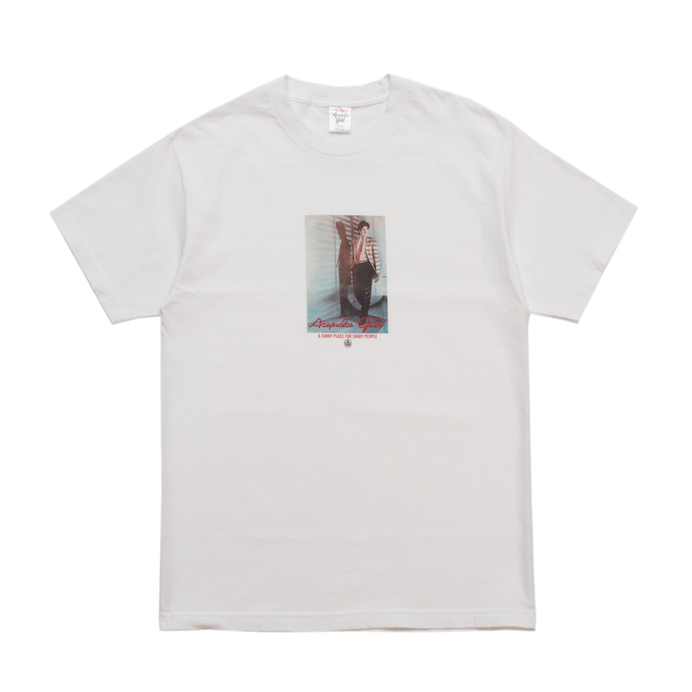 【ACAPULCO GOLD/アカプルコ ゴールド】JUST A GIGOLO TEE Tシャツ / WHITE