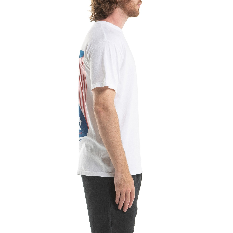 【PUBLISH BRAND/パブリッシュブランド】1ST CLASS Tシャツ / WHITE