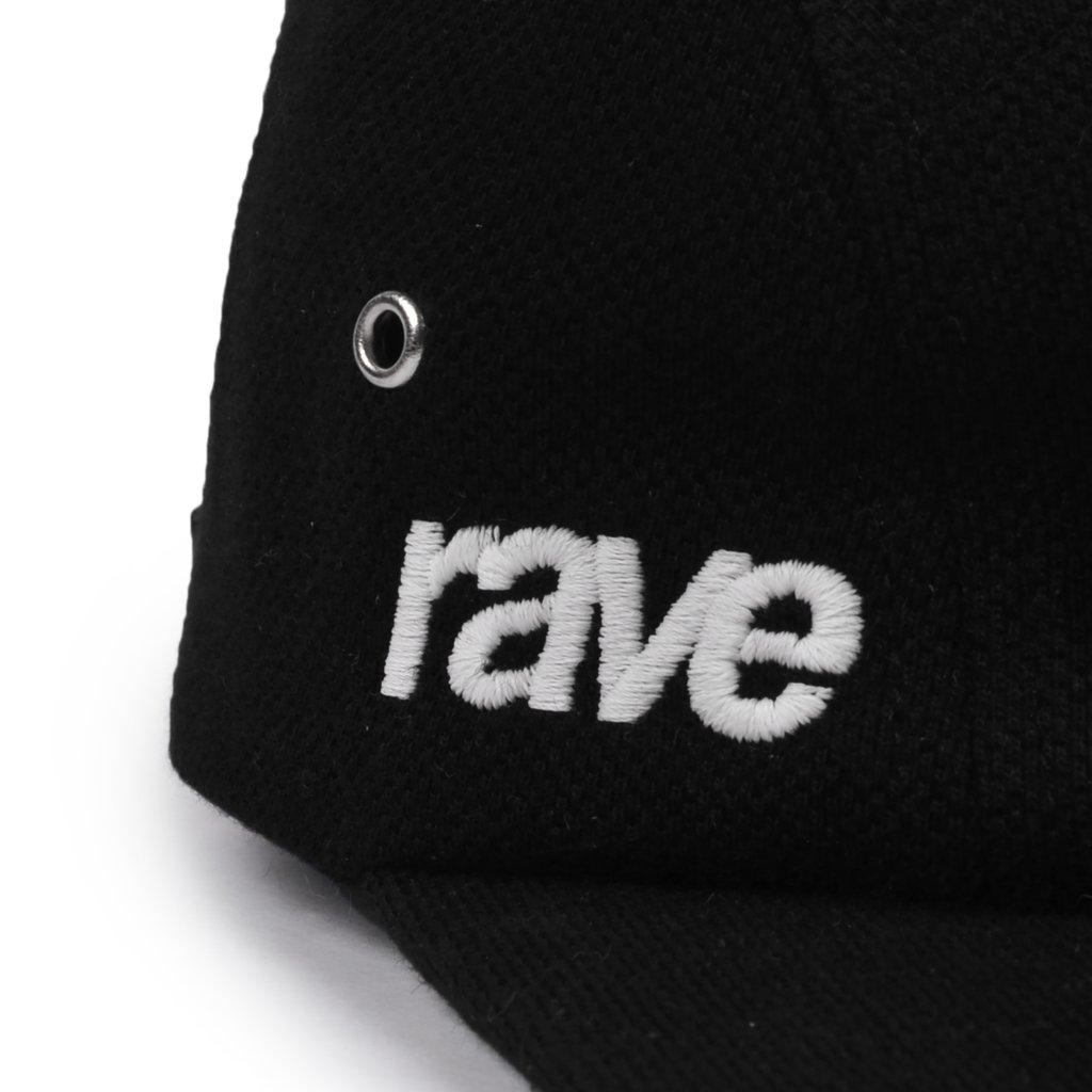 【RAVE SKATEBOARDS/レイブスケートボード】GRAND SLAM CAP キャップ / BLACK
