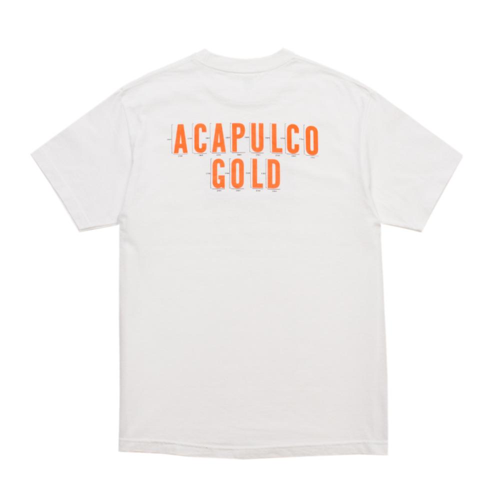 【ACAPULCO GOLD/アカプルコ ゴールド】NO MISTAKE TEE Tシャツ / WHITE