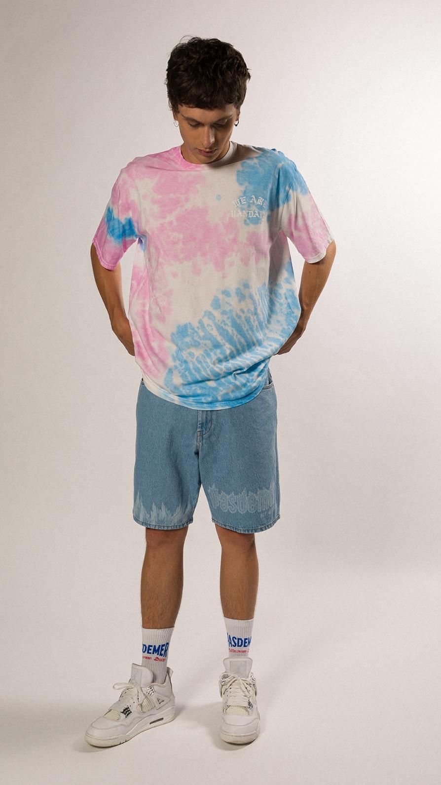 【PAS DE MER/パドゥメ】WAV TIE DYE  T-SHIRT Tシャツ / PATTERN
