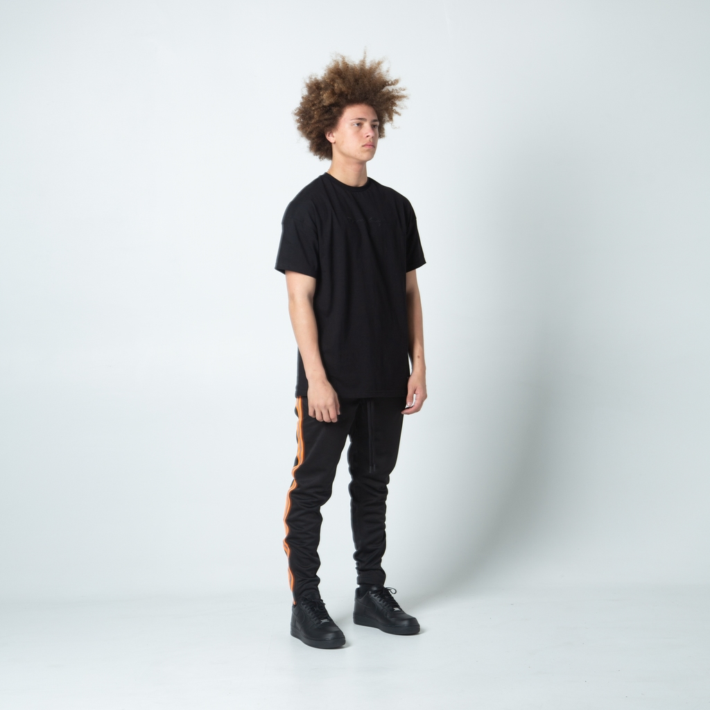 【FAIRPLAY BRAND/フェアプレイブランド】KIRAN TRACK PANT ジョガーパンツ / BLACK