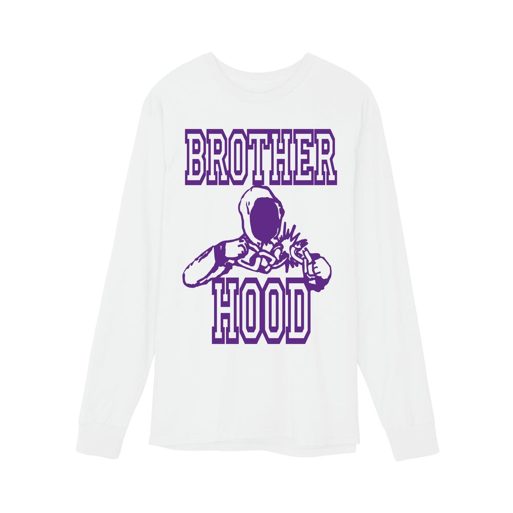 【BROTHER HOOD/ブラザーフッド】BREAK FREE LONG SLEEVE ロングTシャツ / WHITE