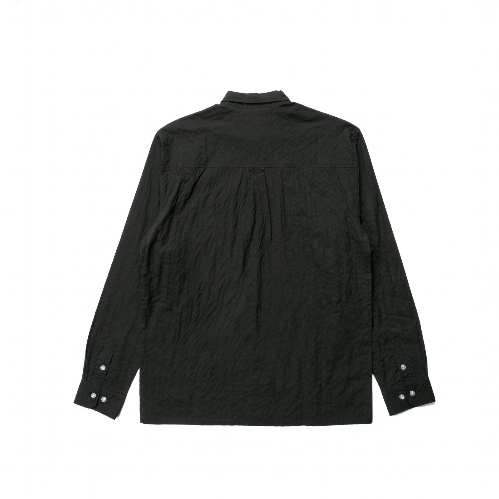 【PUBLISH BRAND/パブリッシュブランド】KOOL 長袖シャツ / BLACK