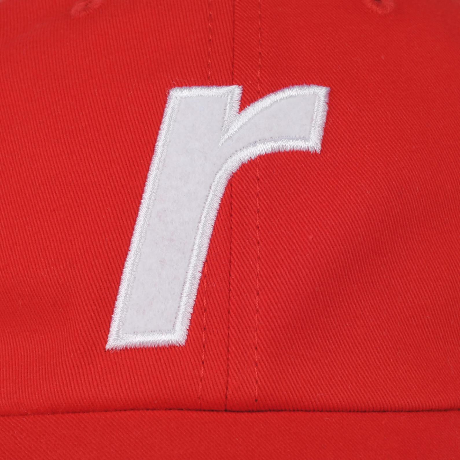 """【RAVE SKATEBOARDS/レイブスケートボード】R LOGO CAP """"FELT"""" ダドキャップ / RED"""