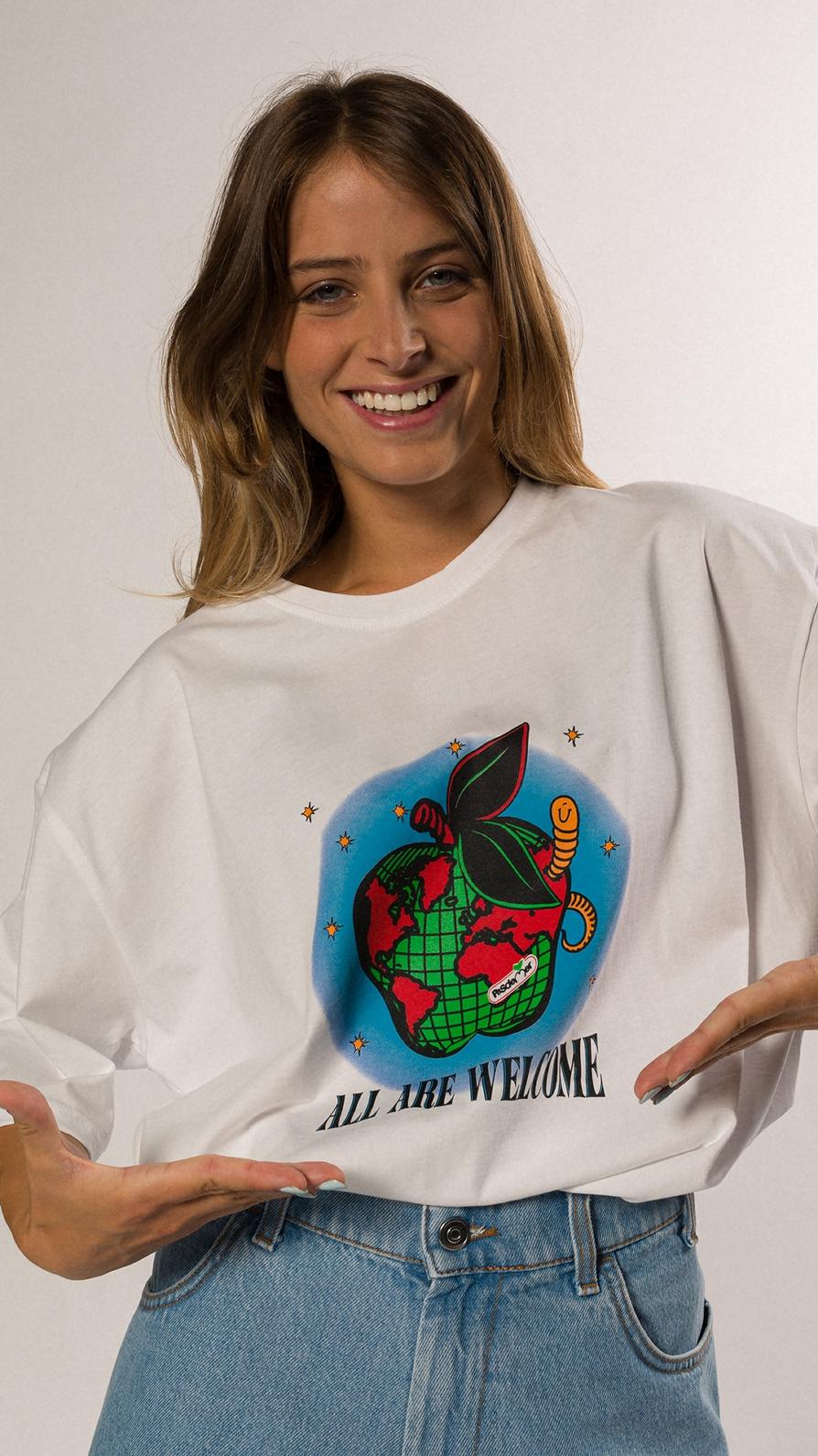 【PAS DE MER/パドゥメ】WELCOME T-SHIRT Tシャツ / WHITE