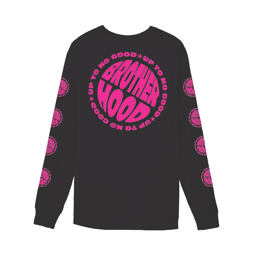 【BROTHER HOOD/ブラザーフッド】UP TO NO GOOD LONG SLEEVE ロングTシャツ / BLACK