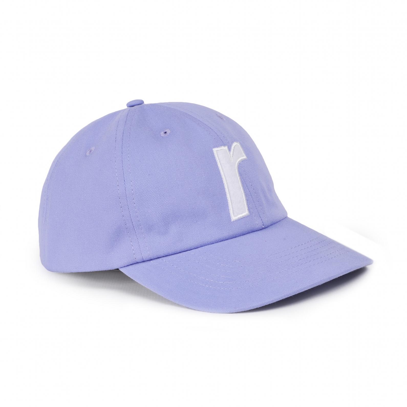 "【RAVE SKATEBOARDS/レイブスケートボード】R LOGO CAP ""FELT"" ダドキャップ / PURPLE"