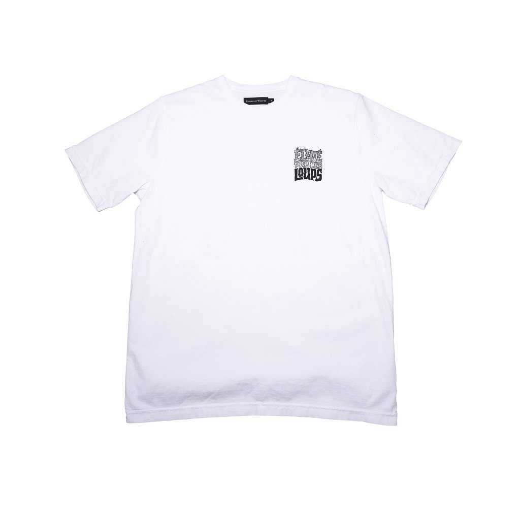 【RAISED BY WOLVES/レイズドバイウルブス】ELEVE PAR LES LOUPS TEE Tシャツ / WHITE