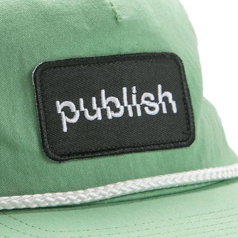 【PUBLISH BRAND/パブリッシュブランド】LIFTED スナップバックキャップ / GREEN