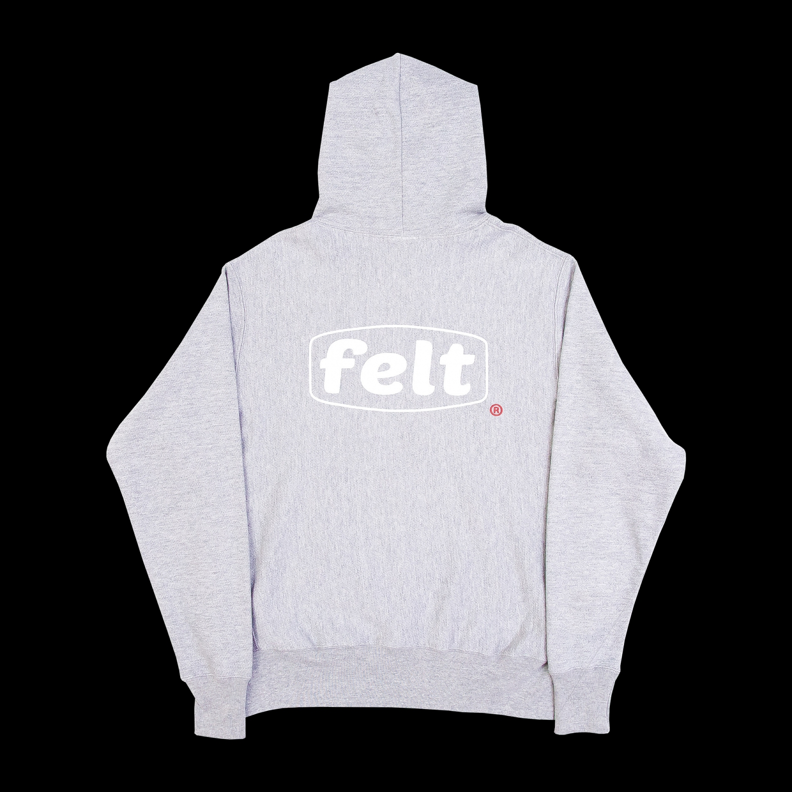【FELT/フェルト】WORK LOGO SWEATSHIRT パーカー / HEATHER