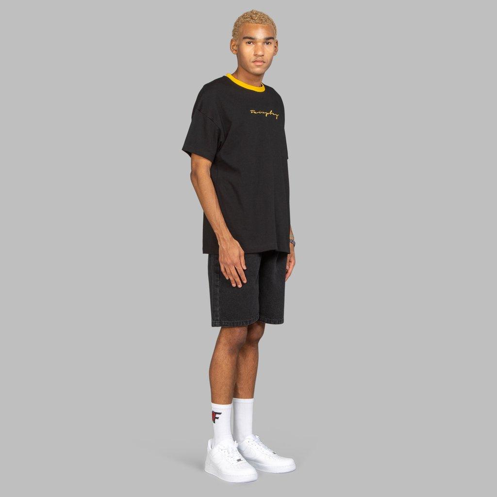 【FAIRPLAY BRAND/フェアプレイブランド】NES カットソーTシャツ / BLACK