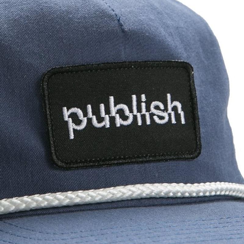 【PUBLISH BRAND/パブリッシュブランド】LIFTED スナップバックキャップ / NAVY