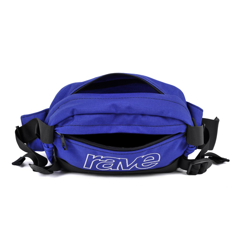 【RAVE SKATEBOARDS/レイブスケートボード】HIP PACK INDIGO  ヒップパック /