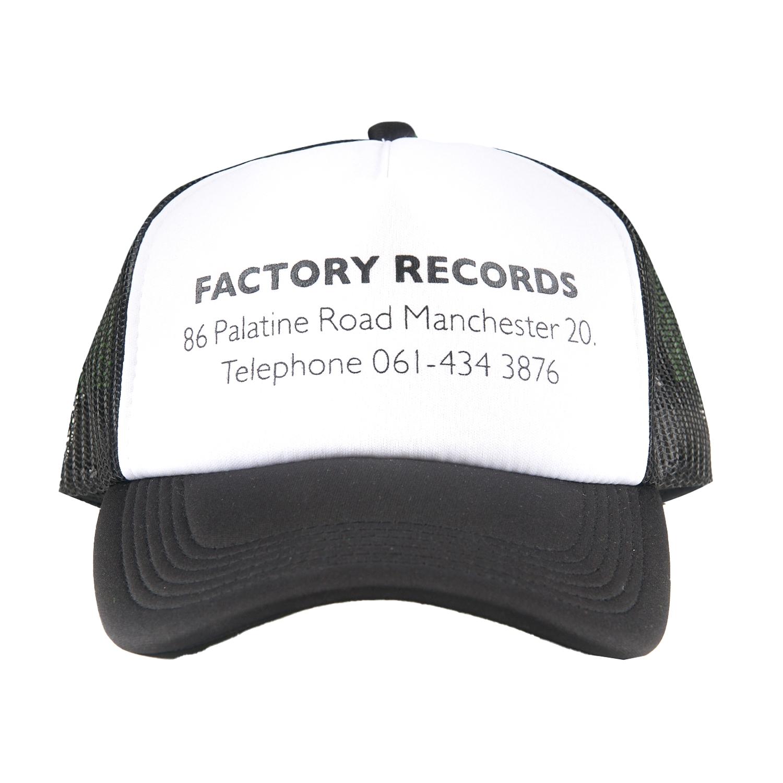 【PLEASURES/プレジャーズ×NEW ORDER/ニュー・オーダー】FACTORY TRUCKER HAT トラッカーハット / BLACK