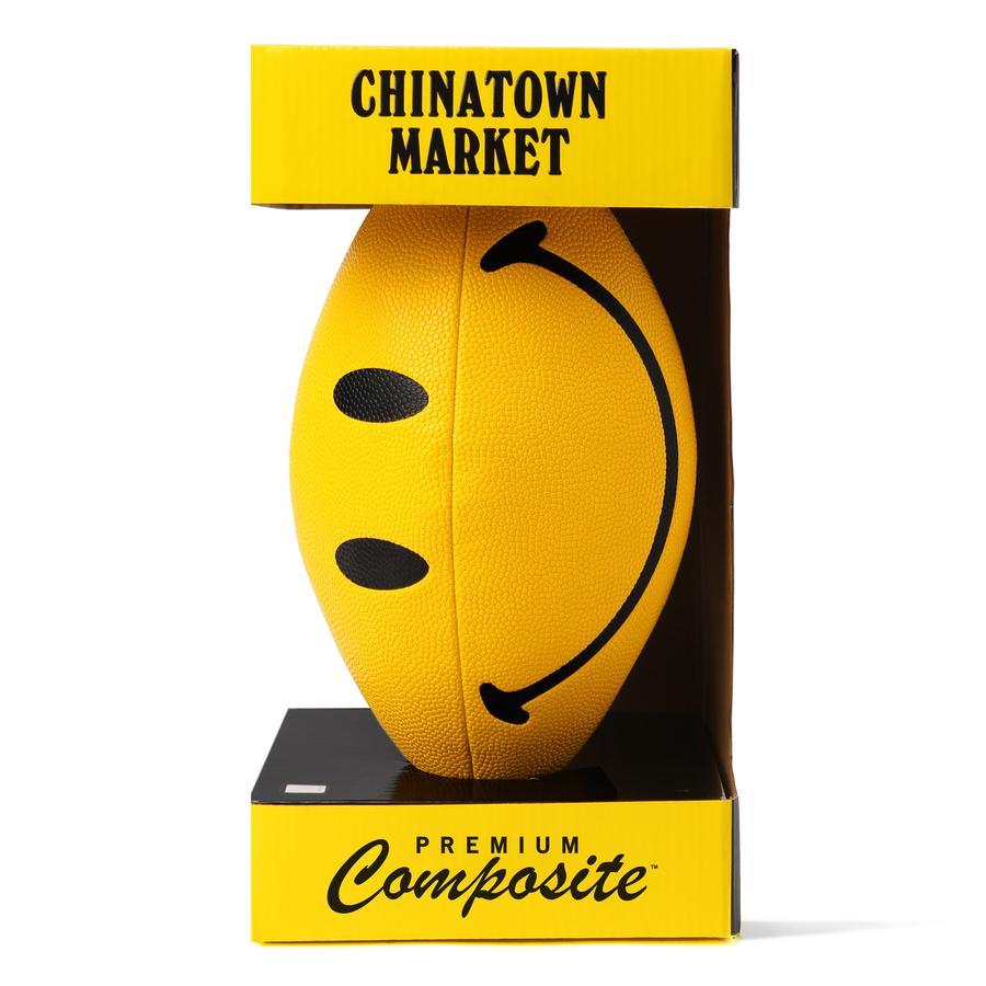 【CHINATOWN MARKET/チャイナタウンマーケット】SMILEY X CTM FOOTBALL フットボール / YELLOW