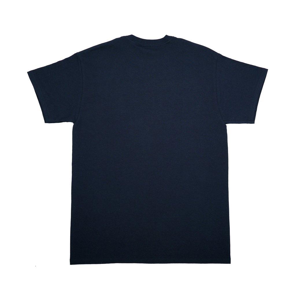 【RAVE SKATEBOARDS/レイブスケートボード】KASPAROV TEE Tシャツ / NAVY