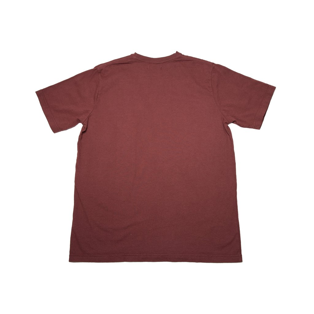【RAISED BY WOLVES/レイズドバイウルブス】PERFECT TEE Tシャツ / OXBLOOD