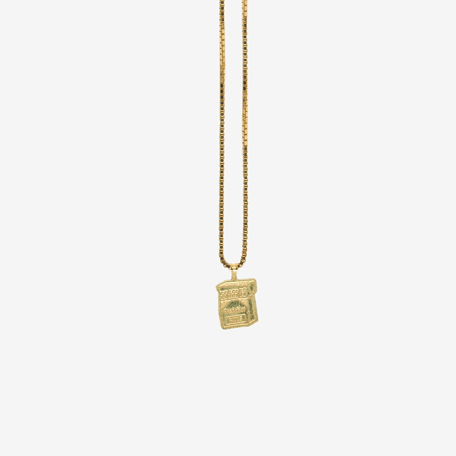 【PAS DE MER/パドゥメ】CIGARETTE NECKLACE ネックレス / GOLD