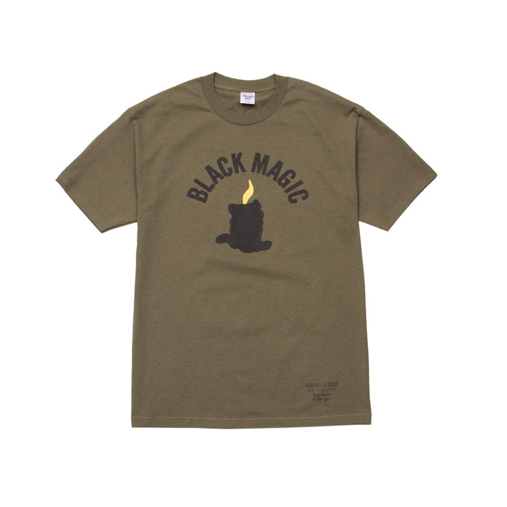 【ACAPULCO GOLD/アカプルコ ゴールド】BLACK MAGIC TEE Tシャツ / OLIVE
