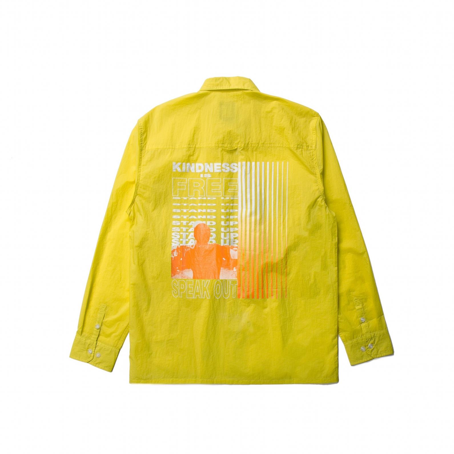 【PUBLISH BRAND/パブリッシュブランド】WEATS ナイロンシャツジャケット / YELLOW