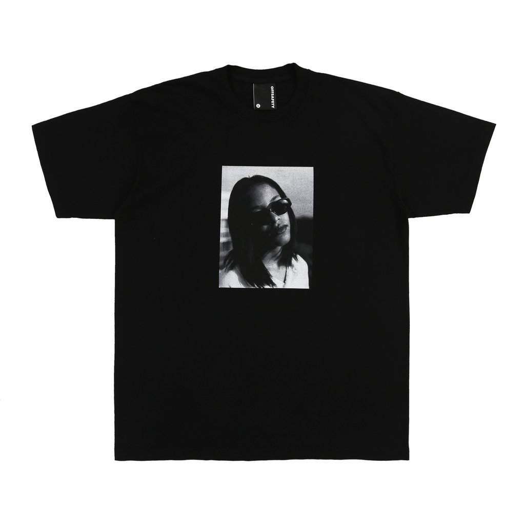 【OFF SAFETY/オフセーフティー】AALIYAH BABY ANGEL TEE Tシャツ / BLACK