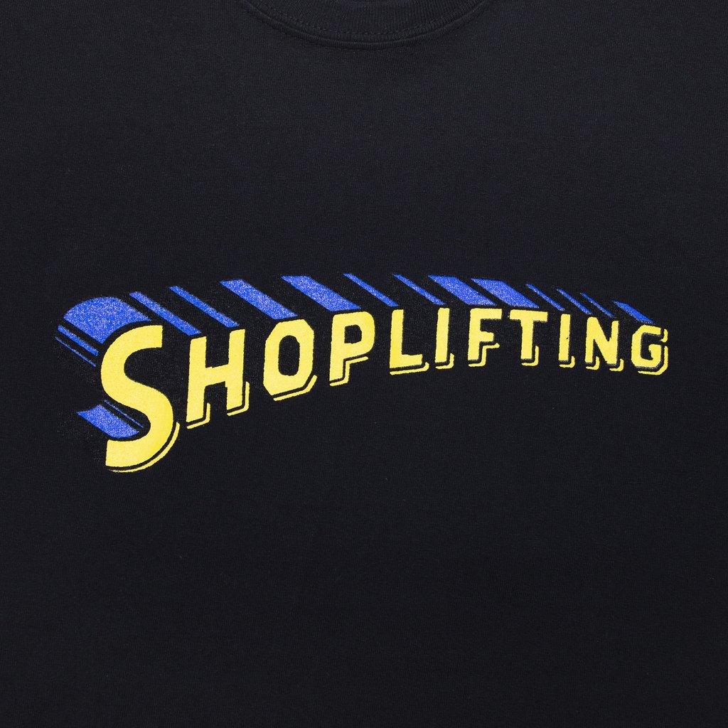 【RAISED BY WOLVES/レイズドバイウルブス】SHOPLIFTING TEE Tシャツ / BLACK
