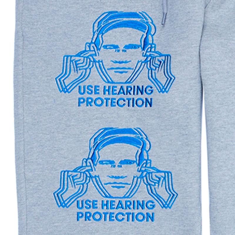 【PLEASURES/プレジャーズ×NEW ORDER/ニュー・オーダー】PROTECTION SWEATPANTS スウェットパンツ / HEATHER GREY