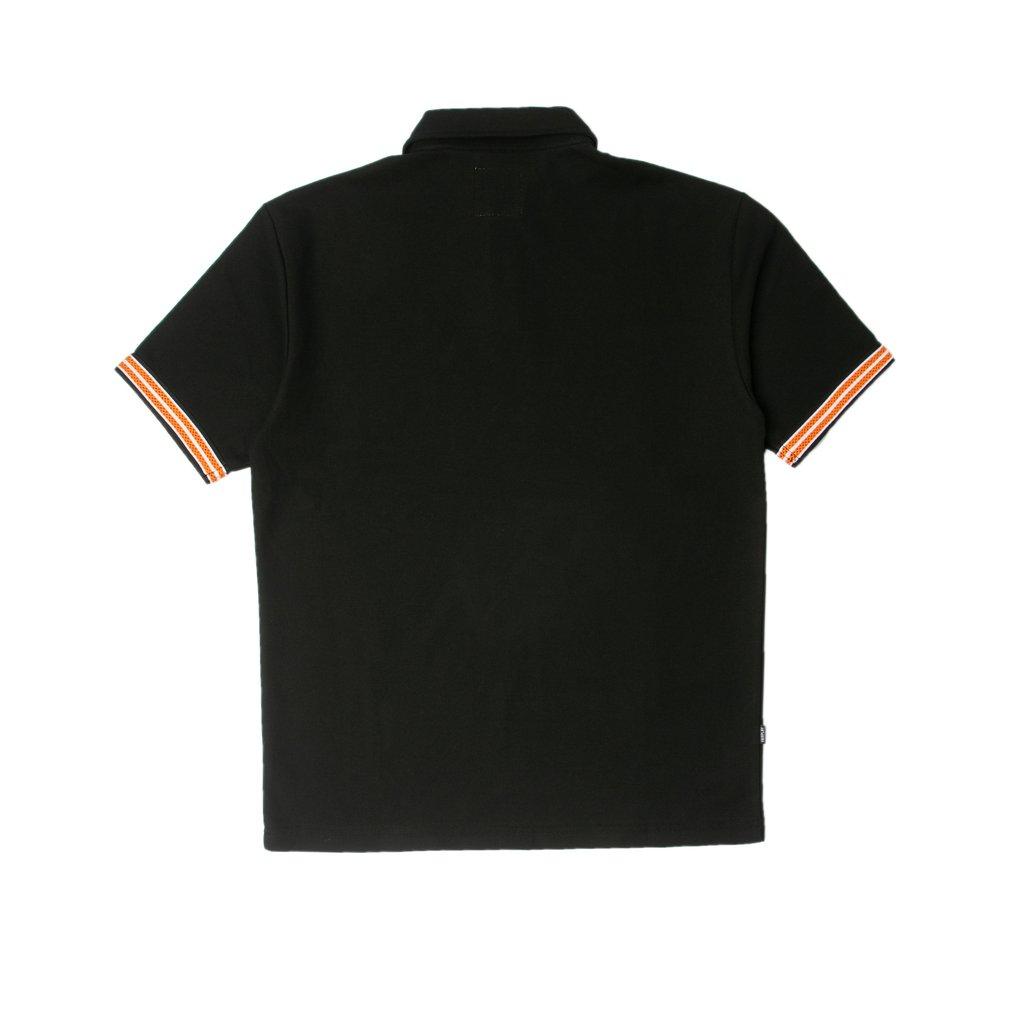 【FAIRPLAY BRAND/フェアプレイブランド】SYLVAN ポロシャツ / BLACK