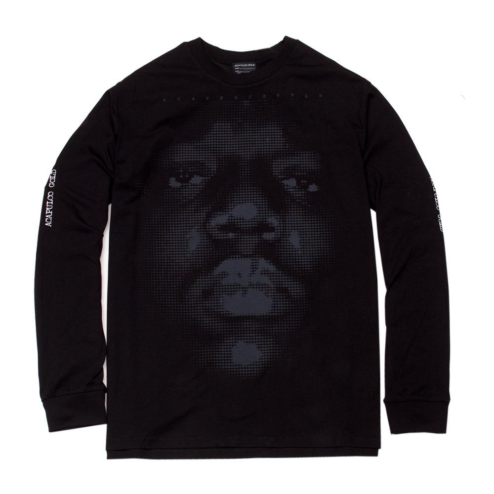 【ACAPULCO GOLD/アカプルコ ゴールド】NOTORIOUS L/S TEE ロングTシャツ / BLACK