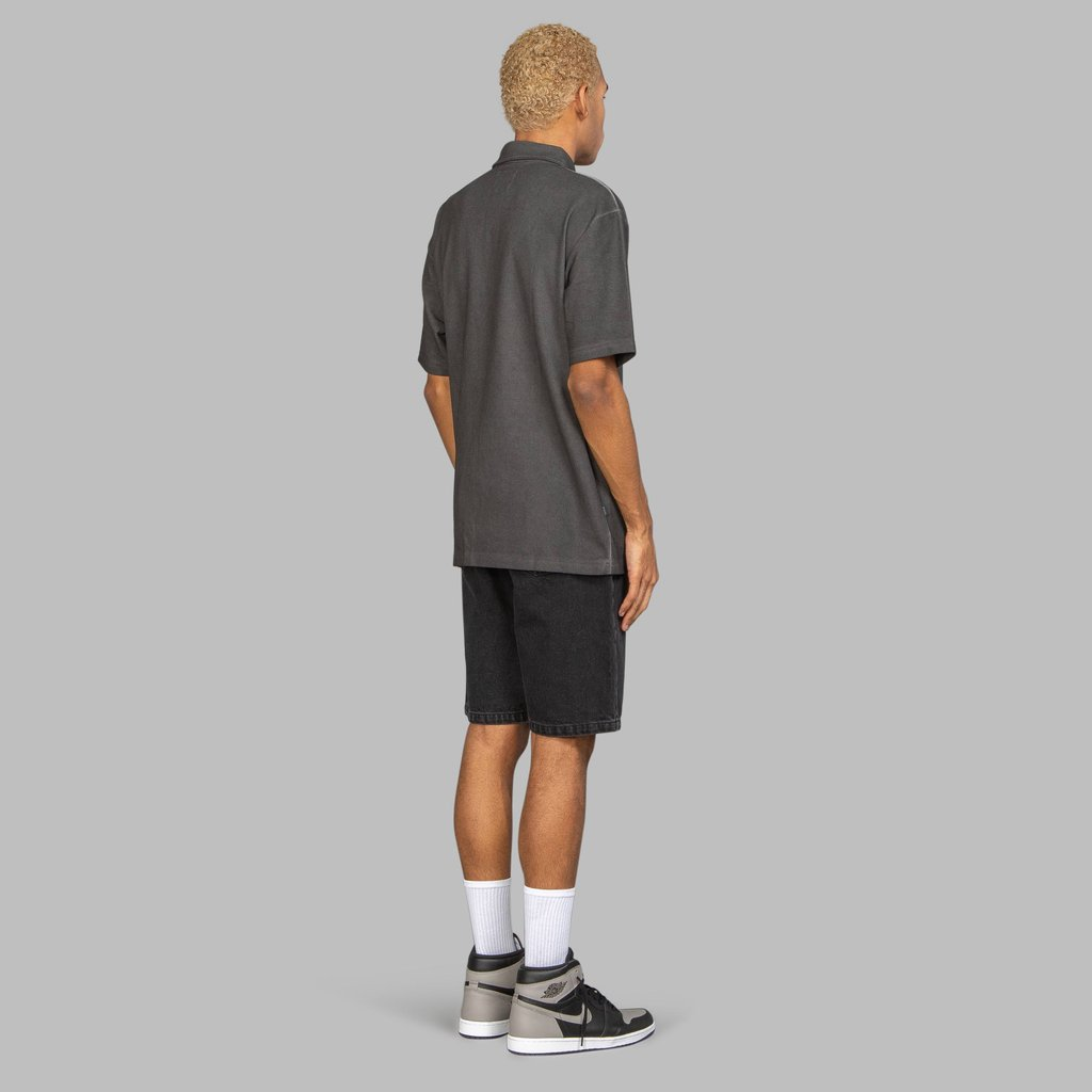【FAIRPLAY BRAND/フェアプレイブランド】TAVIO ポロシャツ / BLACK