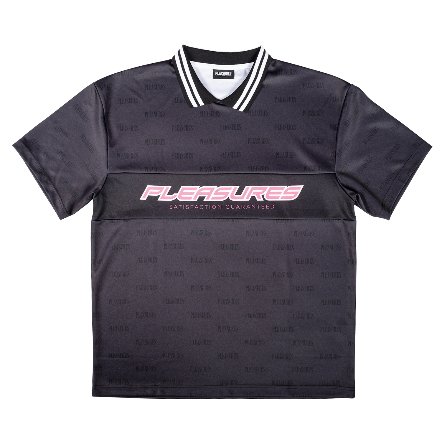 【PLEASURES/プレジャーズ】SATISFACTION JERSEY ジャージー / BLACK